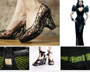 Complementos de moda impresos en impresoras 3D