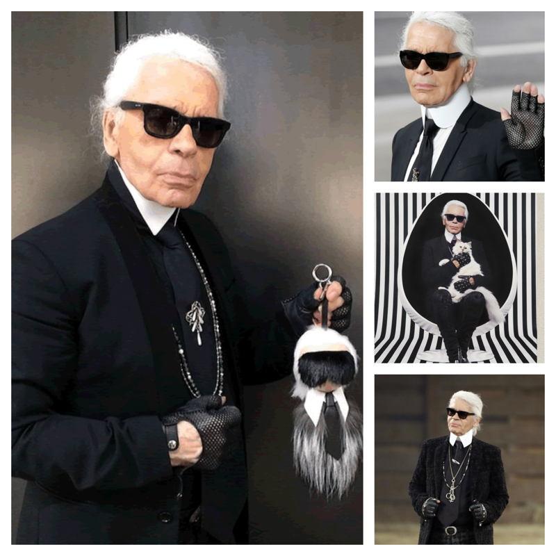 Diseñador Karl Lagerfeld