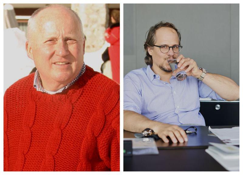Empresarios Uwe y Jochen Holy