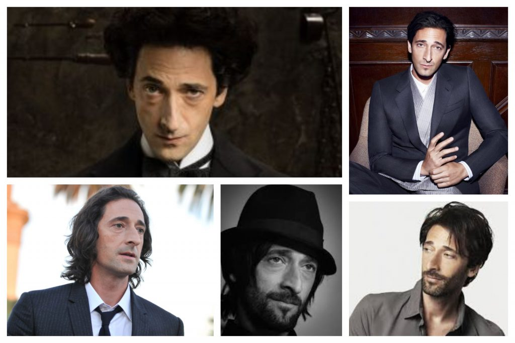 Actor Adrien Brody de el piano