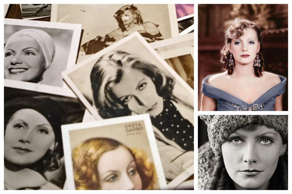 Actriz Greta Garbo