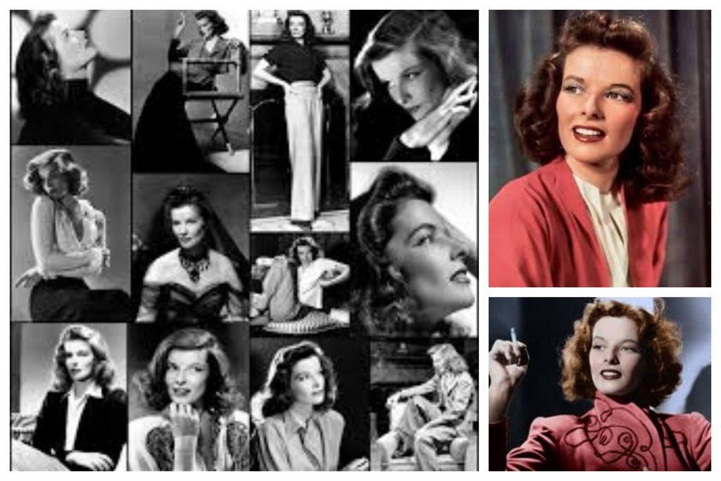 Actriz Katharine Hepburn