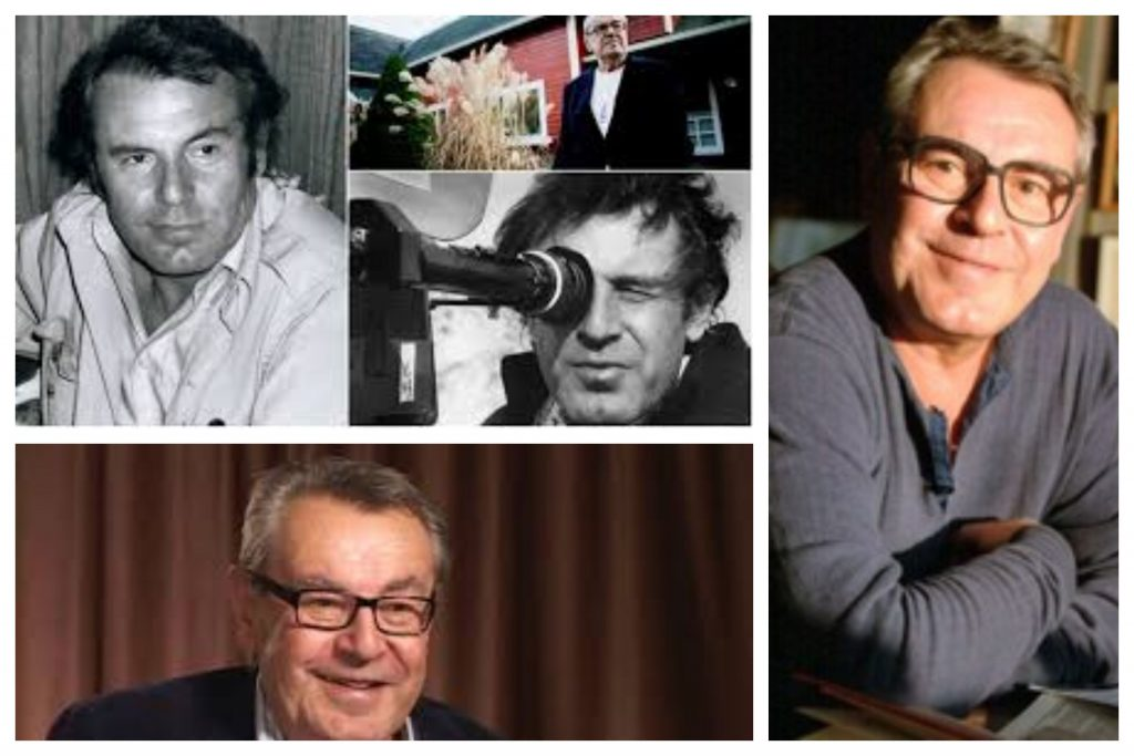Director y actor Miloš Forman