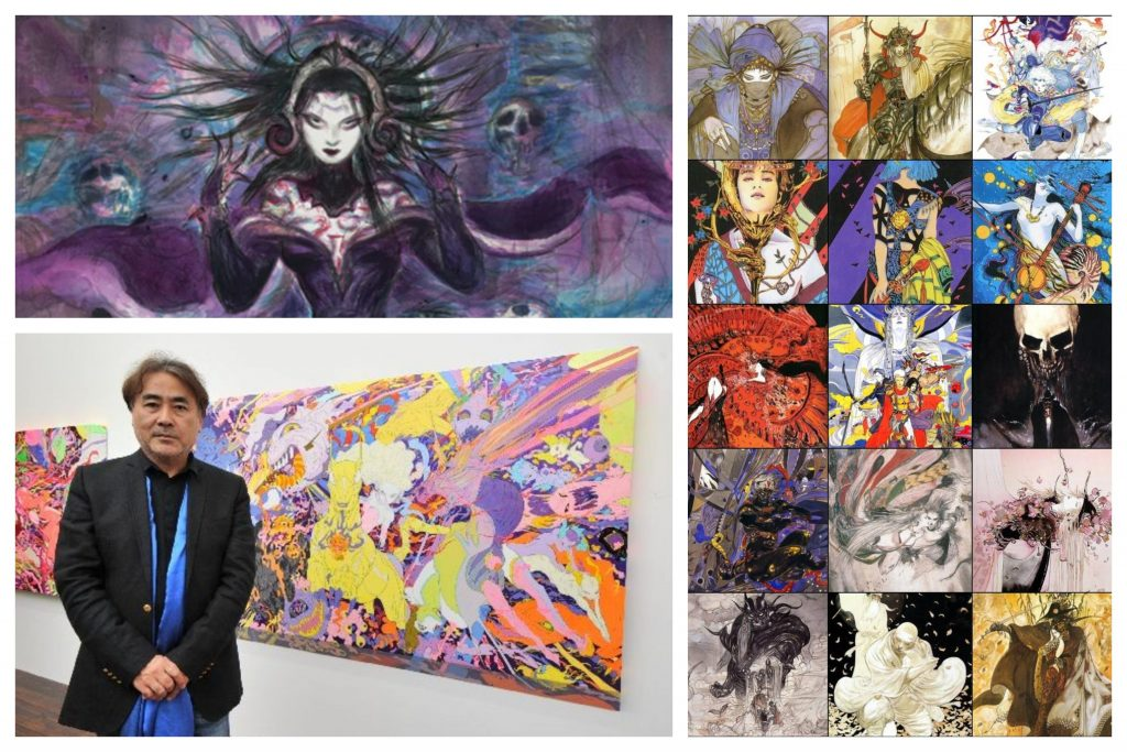 artista Yoshitaka Amano