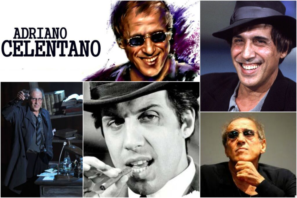 Actor Adriano Celentano